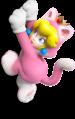 Cat Princess Peach Artwork (alt) - Super Mario 3D World.png
