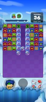 Stage 1040 from Dr. Mario World