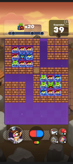 Stage 205 from Dr. Mario World