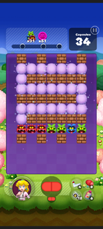 Stage 523 from Dr. Mario World