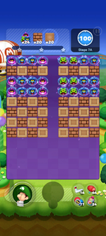 Stage 7A from Dr. Mario World