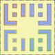 MKSC Unused SNES Battle Course 2 Map.png