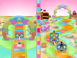 Curvy Curbs from Mario Party 5