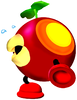 Artwork of a Plungelo in Super Mario Sunshine.