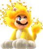 Art of Giga Cat Mario from Super Mario 3D World + Bowser's Fury