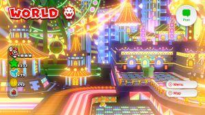 Other 8-bit Luigi found on the World Bowser map in Super Mario 3D World.