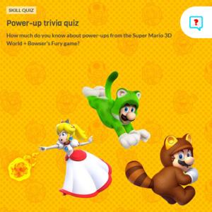 Thumbnail for Super Mario 3D World Power-Up Quiz: Throw Fireballs