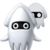 Blooper Nanny icon from Super Mario Maker 2 (New Super Mario Bros. U style)