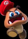 Super Mario Odyssey artwork of a captured Goomba