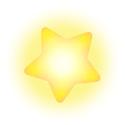 Artwork of a Warp Star from Super Smash Bros. Brawl.