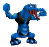 A blue Kritter, in Mario Power Tennis.