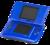 The original Nintendo DS, Electric Blue color