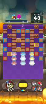 Stage 419 from Dr. Mario World