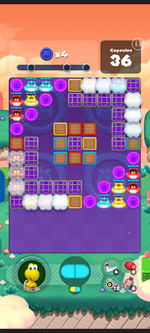 Stage 573 from Dr. Mario World