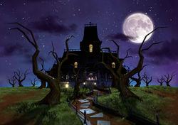 Gloomy Mansion from Luigi's Mansion: Dark Moon
