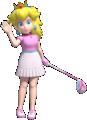 Artwork of Peach in Mario Golf: Super Rush