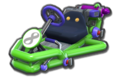 Thumbnail of Iggy's Pipe Frame (with 8 icon), in Mario Kart 8.