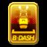 Gold badge 148 from Mario Kart Tour