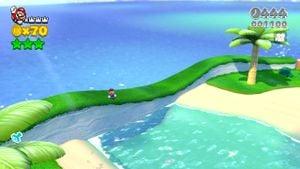 Other hidden Luigi found in Pipeline Lagoon in Super Mario 3D World.