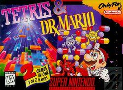 Tetris & Dr. Mario box art