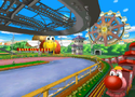The icon for Baby Park, from Mario Kart Double Dash!!.