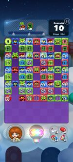 Stage 1164 from Dr. Mario World