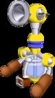 Artwork of F.L.U.D.D. in Super Mario Sunshine.