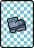 A Iron Jump Card in Paper Mario: Color Splash.