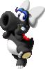 Artwork of Birdo (Black) from Mario Kart Tour