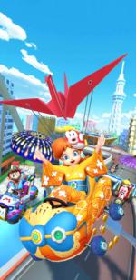 The Summer Festival Tour from Mario Kart Tour.
