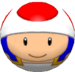 Toad using the Bowlo Candy.