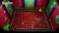 The rumbling floor bonus room in the Sand Kingdom in Super Mario Odyssey