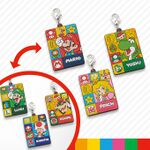 Mario character two-sided charms from Super Nintendo World