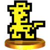 Trophy of Sheriff in Super Smash Bros. for Nintendo 3DS.