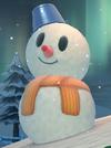 Snowman from Mario Kart 8