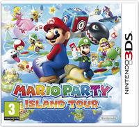 United Kingdom box art of Mario Party: Island Tour.