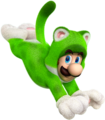 Cat Luigi Artwork - Super Mario 3D World.png