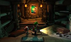 The Crypt segment from Luigi's Mansion: Dark Moon.