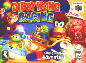 North American boxart for Diddy Kong Racing