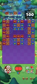 Stage 1000 from Dr. Mario World