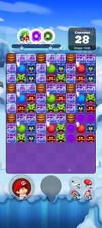 Stage 1026 from Dr. Mario World
