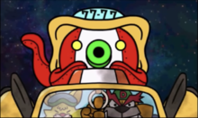 Dribble and Spitz preparinng the Octoblazooka in WarioWare Gold