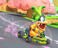 The icon of the Shy Guy Cup challenge from the Marine Tour and the Bowser Cup challenge from the Wedding Tour in Mario Kart Tour.