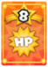 Deals 150 damage to the enemy or character with the most HP remaining - including the Mario Bros.!