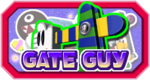 The logo for Gate Guy in Mario Party 3