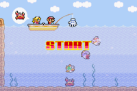 Cast Away Mario!