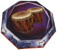 Artwork of the Music Pad in Donkey Kong 64.