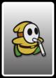 A Yellow Slurp Guy card from Paper Mario: Color Splash