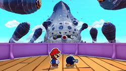 Gooper Blooper in Paper Mario: The Origami King