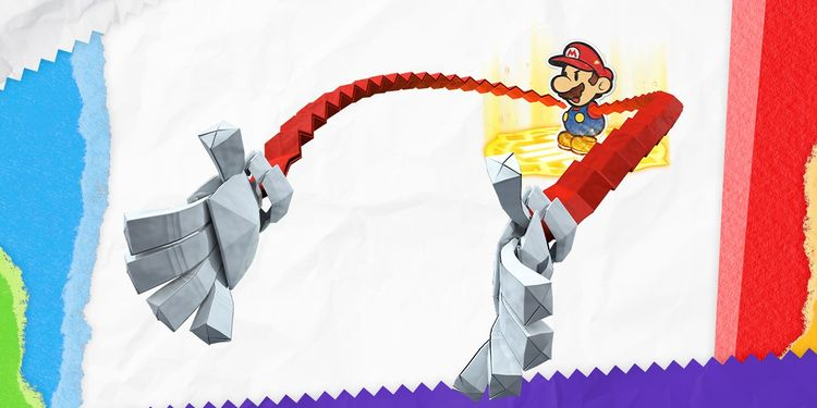 The picture shown with the sixth question in Paper Mario: The Origami King Trivia Quiz